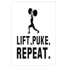 Lift, Puke, Repeat.