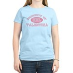 Property of Valentina Women's Light T-Shirt
