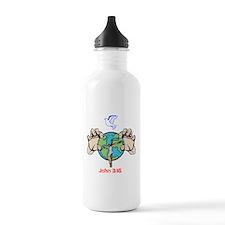 John 3:16 Water Bottle