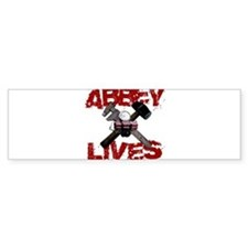 Abbey Lives! Bumper Sticker