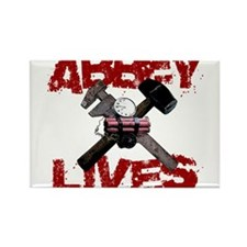 Abbey Lives! Rectangle Magnet (10 pack)