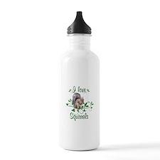 I Love Squirrels Water Bottle