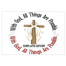 With God Cross Lung Cancer