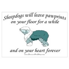 Sheepdog Pawprints