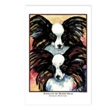 Papillon de Mardi Gras Postcards (Package of 8)
