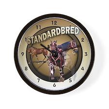 Foal to Racing Wall Clock
