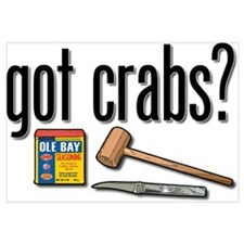 """got crabs?"""