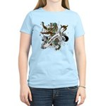 Anderson Tartan Lion Women's Light T-Shirt - Scottish lion rampant with the Anderson clan tartan and a banner with the family name. - Availble Sizes:Small,Medium,Large,X-Large,2X-Large (+$3.00) - Availble Colors: Light Yellow,Light Pink,Light Blue