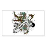 Anderson Tartan Lion Sticker (Rectangle) - Scottish lion rampant with the Anderson clan tartan and a banner with the family name. - Availble Sizes:Small - 3x5,Large - 4.5x7.5 (+$1.50) - Availble Colors: White,Clear