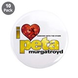 I Heart Peta Murgatroyd 3.5&quot; Button (10 pack)