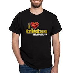 I Heart Tristan MacManus Dark T-Shirt