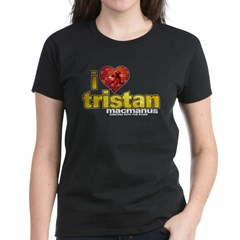 I Heart Tristan MacManus Women's Dark T-Shirt