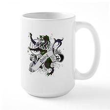 Baird Tartan Lion Mug