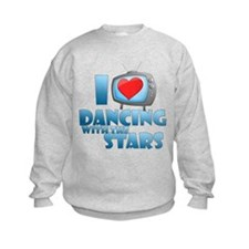 I Heart Dancing with the Stars Kids Sweatshirt
