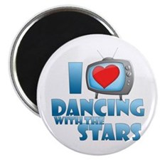 "I Heart Dancing with the Stars 2.25"" Magnet (10 pa"