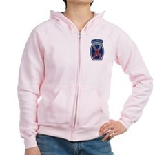 10th Mountain Division Vintag Zip Hoodie