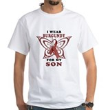 I Wear Burgundy for my Son Shirt