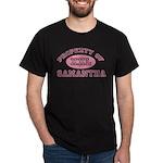 Property of Samantha Dark T-Shirt