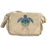 Cute Beach and ocean Messenger Bag
