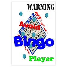 Warning Avoid Bingo Player