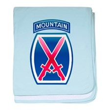 10thMountain Division baby blanket