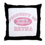 Property of Reyna Throw Pillow