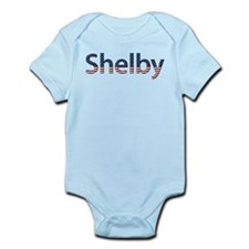 Shelby Stars and Stripes Infant Bodysuit