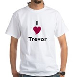 I Love Trevor Shirt (to 4X)