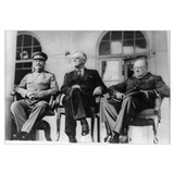 Roosevelt, Stalin, and Churchill, Teheran