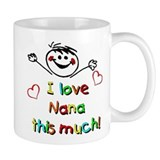 I Love Nana (Boy) Small Mug