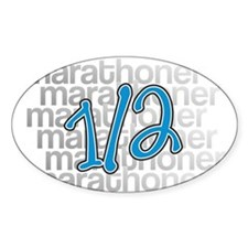 13.1 Half-Marathoner Decal
