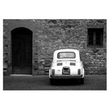 Old Fiat 500 in Tuscany