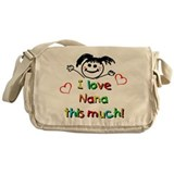 I Love Nana (Girl) Messenger Bag