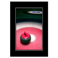 Curling Stone 16x20