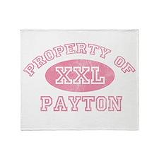 Property of Payton Throw Blanket