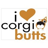 I Heart Corgi Butts - RHT
