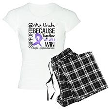 Supporting Uncle Hodgkins pajamas