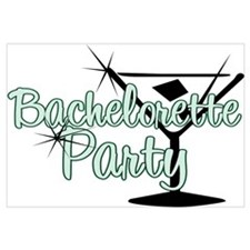 Green Martini Bachelorette Party