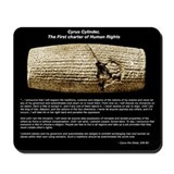 Cyrus the Great Cylinder Mousepad