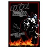ILLogical Designs Large Motorcycle Wheelie