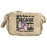 Support Mother-in-Law Hodgkins Messenger Bag