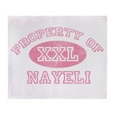 Property of Nayeli Throw Blanket