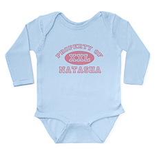 Property of Natasha Long Sleeve Infant Bodysuit