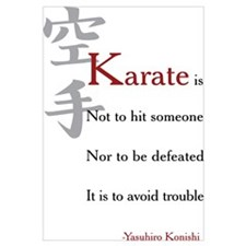 Unique Karate do Wall Art