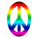 Rainbow Peace Sign