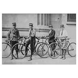 Decals vintage bicycle Wall Art