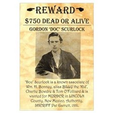 Wanted Doc Scurlock