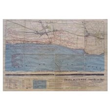 Omaha Beach D-Day Map
