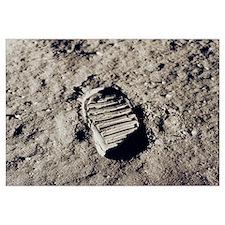Apollo 11 Bootprint Large Astronomy gift
