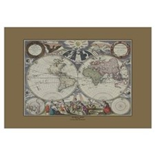 World Map c.1500's
